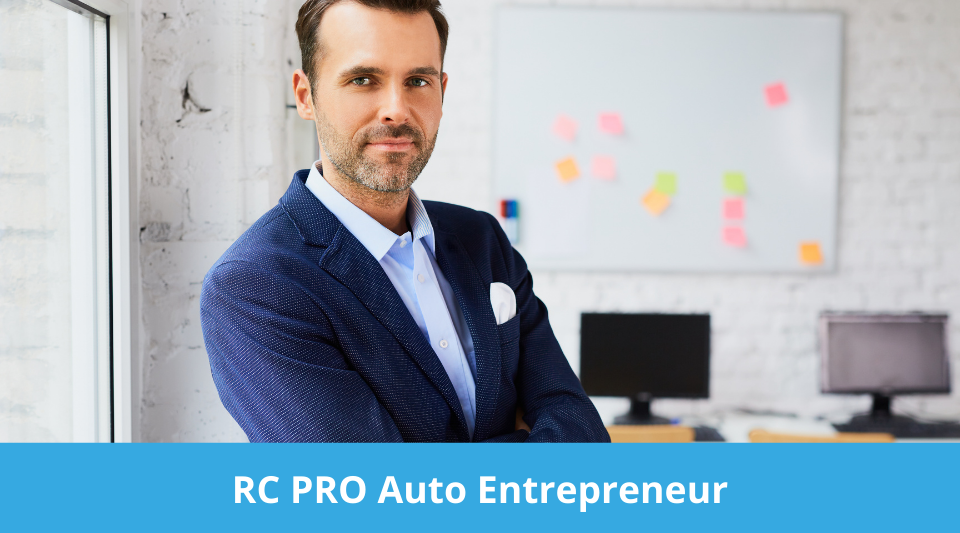 auto entrepreneur ayant souscrit une assurance RC PRO pour couvrir son activité