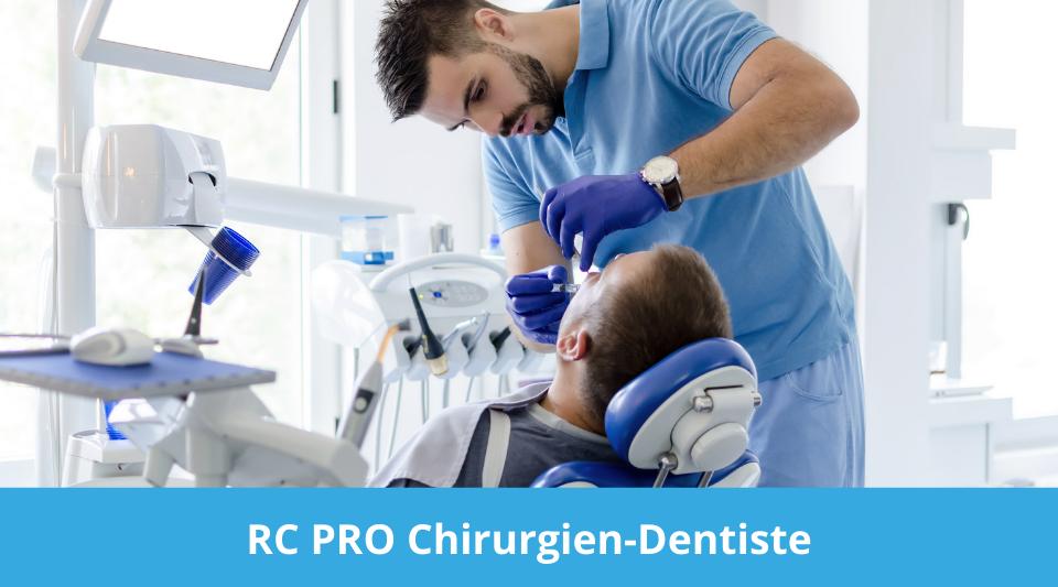 assurance responsabilité du chirurgien dentiste pendant l'exercice de son métier