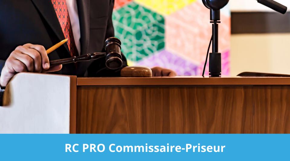 devis et prix des assurances rcp pour le commissaire priseur