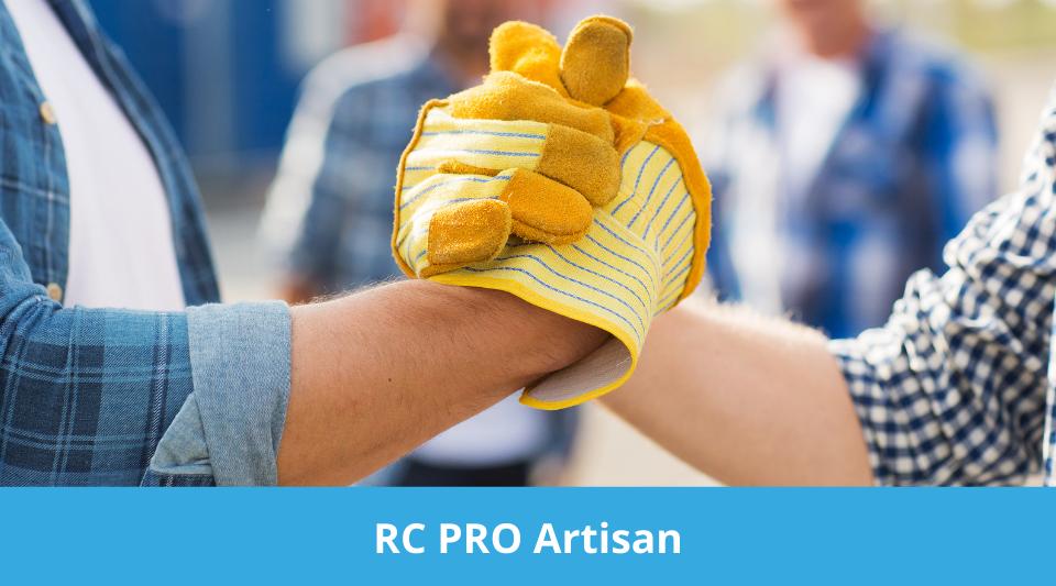 l'artisan peut aussi choisir de souscrire une rc pro