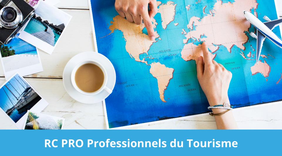 listing des professionnels du tourisme avec obligation de souscription à une RCP