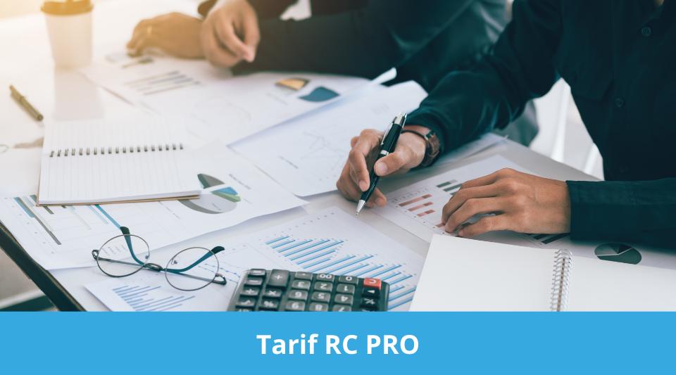 liste des tarifs et des prix des assurances responsabilité civile pro