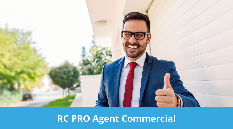 agent commercial avec une garantie RCP adéquate